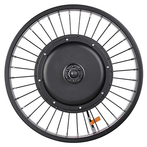 """Front Wheel 20/""""  26/"""" 1000W Electric Bike Motor Fat Tire 470rpm 48V 3 LED indica"""