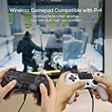 Wireless Controller for PS-4, Gobub 1000 mAh