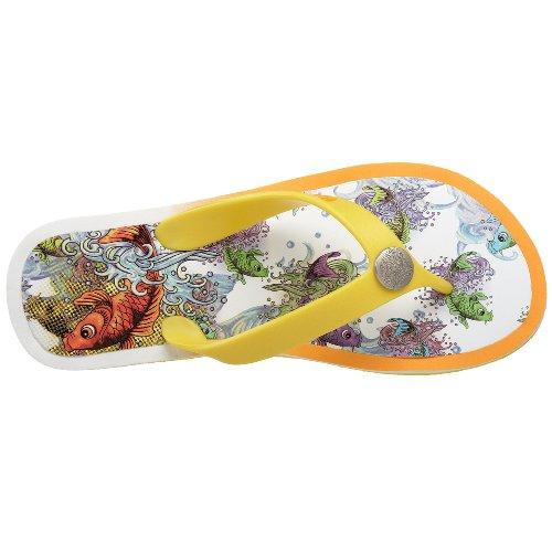 Ed Hardy Womens Okina Sandal Yellow-10sbc208w Tm3YLLkM