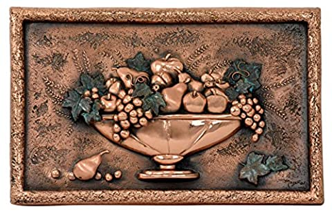 Good Directions 2007C Italian Still Life Mural & Backsplash, Copper (Tuscany Mural)