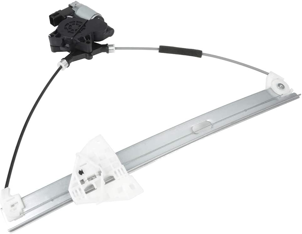 Front Right Passenger Side Power Window Regulator with Motor fits for 2004-2009 Mazda 3 748-051 BP4K58590A GJ6A5858XC