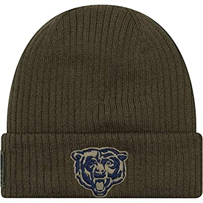 New Era Chicago Bears 2018 Mens Salute to Service Knit Hat