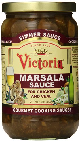 Victoria Marsala Simmer Sauce, 16 Ounce