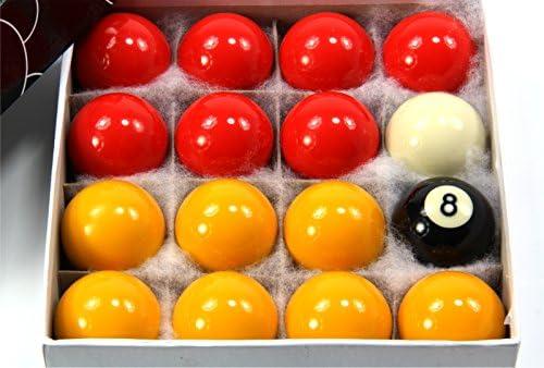 Funky Chalk 44 mm tamaño Mediano economía Rojo y Amarillo Bolas de ...