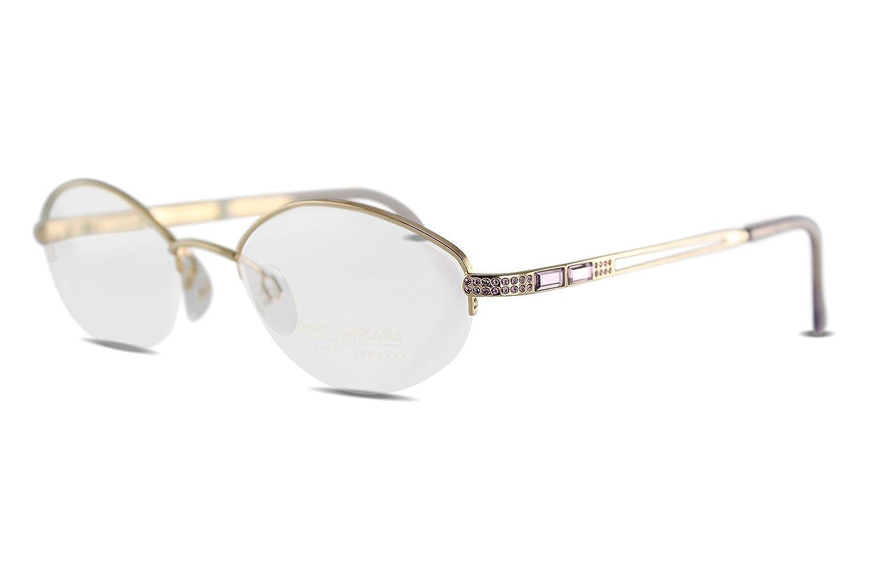 SWAROVSKI Damen Brille Brillenfassung S072/20 V6052 (50-19): Amazon ...