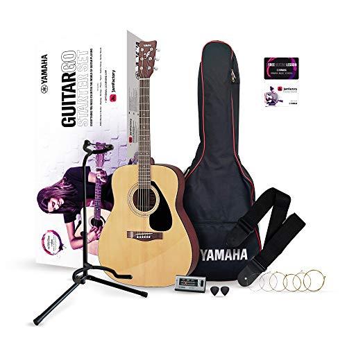 YAMAHA GuitarGo, Set para principiantes y para aquellos que quieran retomarlo, incluye cuerdas, púas, funda, diapasón…