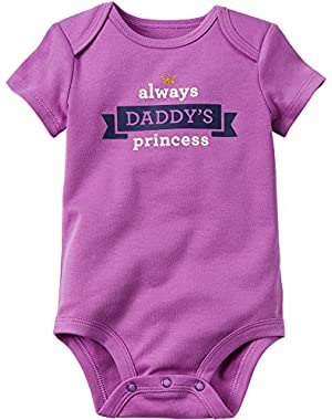 Baby Girls' Daddy's Princess Bodysuit