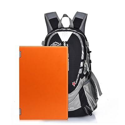 25L sac à dos d'alpinisme en plein air randonnée Camping sac à bandoulière imperméable (couleur: noir)