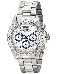 Invicta Men's 17311 Speedway Analog Display Japanese Quartz Silver Watch