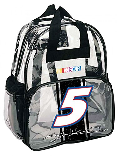 NASCAR #5 Kasey Kahne Clear Backpack-NASCAR Backpack-NEW for 2016!