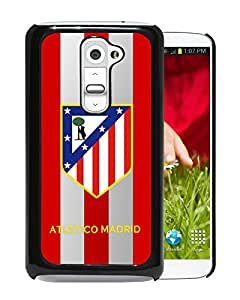 Fashion And Antiskid Cover Case For LG G2 With Atletico Madrid Black Phone Case 3