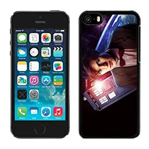 Unique iPhone 6 4.7 Case Design with Matt Smith Doctor Who Phone Case for iPhone 6 4.7 in Black WANGJING JINDA