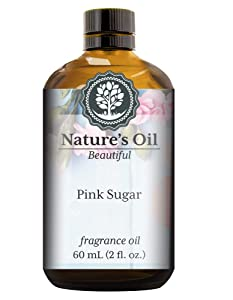 Pink Sugar Fragrance Oil (60ml) For Perfume, Diffusers, Soap Making, Candles, Lotion, Home Scents, Linen Spray, Bath Bombs, Slime