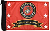 Forever Wave United States Marine Corp Served With Pride Flag