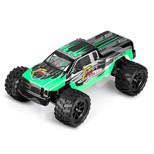 WLtoys L969 RC Cars Remote Control Car 2.4G 2WD Off Road Racing Car 1/12 Scale Rock Crawler Toys Radio Control Vehicle for Kids and Adults - Green