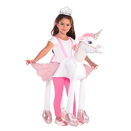 684a2ccfbe71 Amazon.com: Child Unicorn Ride-On Costume: Toys & Games