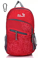About Outlander Packable Backpack With a stylish look, this packable go-anywhere pack is for super-minimalists who make every gram count. Ultra-light. Ultra-durable. Ultra-awesome. The backpack is perfect for day-to-day use or occasional trav...