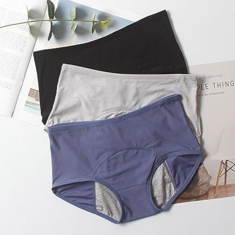 healifty bragas menstruales Slip para un período de tiempo ropa interior Protectora para las menstruación incontinencia