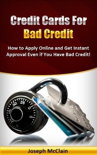 Credit Cards For Bad Credit >> Credit Cards For Bad Credit 2013 Rebuild Credit With Credit Cards Book 1