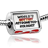 Bead with Hearts Worlds hottest Astrometeorologist - Charm Fit All European Bra