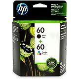HP 60 | 2 Ink Cartridges | Black, Tri-color | CC640WN, CC643WN, Model:N9H63FN#140