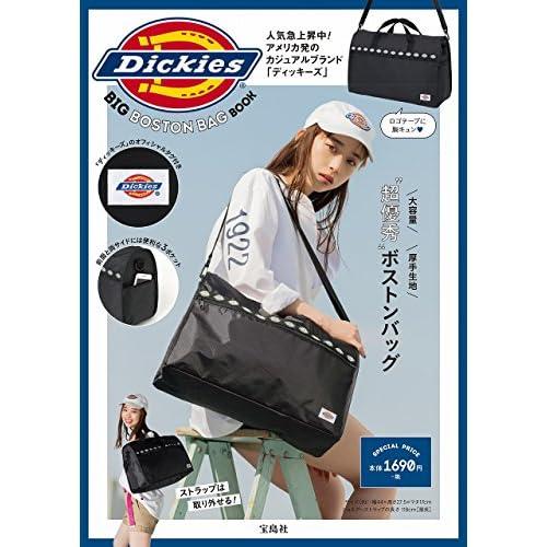 Dickies BIG BOSTON BAG BOOK 画像 A