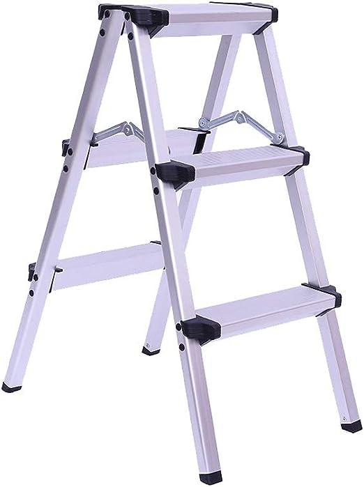Step Stool Wooden- Escaleras de Tijeras Escalera Simple Plegable multipropósito para Taburete de Paso Ligero para Interiores al Aire Libre, MAX.150 KG Welcome: Amazon.es: Hogar