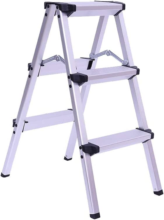 Step Stool Wooden- Escaleras de Tijeras Escalera Simple Plegable multipropósito para Taburete de Paso Ligero para Interiores al Aire Libre, MAX.150 KG Welcome: Amazon.es: Hogar