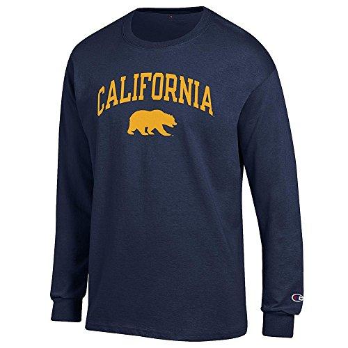California Golden Bears Long Sleeve TShirt Varsity Navy - XL