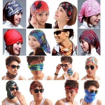Motorcycling Fishing Running Hiking Cycling Headwrap Headwear for Boys Girls
