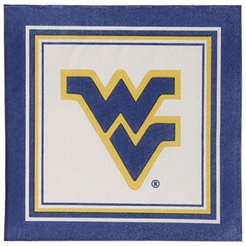 Mountaineers Napkins, West Virginia Mountaineers Napkins