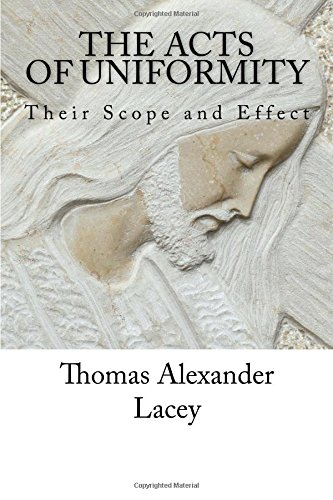 The Acts of Uniformity: Their Scope and Effect ebook