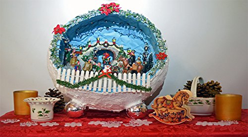 Miniature Christmas Village.Amazon Com Christmas Diorama Christmas Miniature