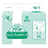 elleair(エリエール) 業務用 アテント Rケア スーパーフィットテープ L26枚 3個(1ケース)