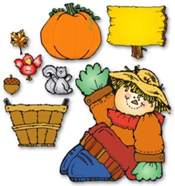 Harvest Hank Bulletin Board Cut Out Set by by by Frank Schaffer Publications Carson Dellosa Publications e9d9f0
