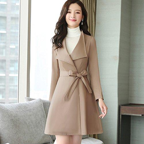 Aristocratic its Women'S Coats Jackets Windbreaker SCOATWWH card Long Coats Shallow Jacket Ladies nbsp;Female amp; HxOwWT6qnI