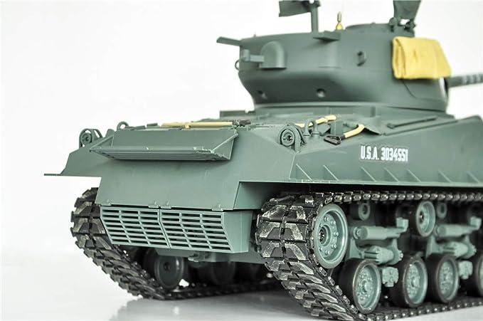 HOOBEN 1:16 M4A3E8 US Furia Medium RTR Vagón Sherman ensamblado y ...