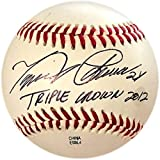 "Miguel Cabrera""Triple Crown 2012"" Autographed Venezuelan League Baseball (JSA) - Autographed Baseballs"