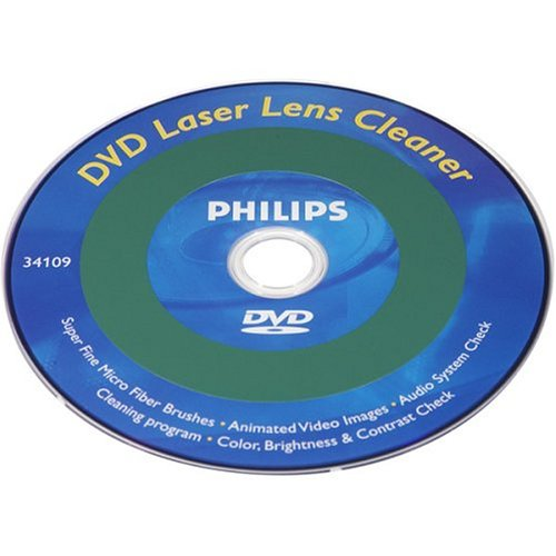 PHILIPS USA PH63005 DVD Lens Cleaner (Discontinued by Manufacturer)