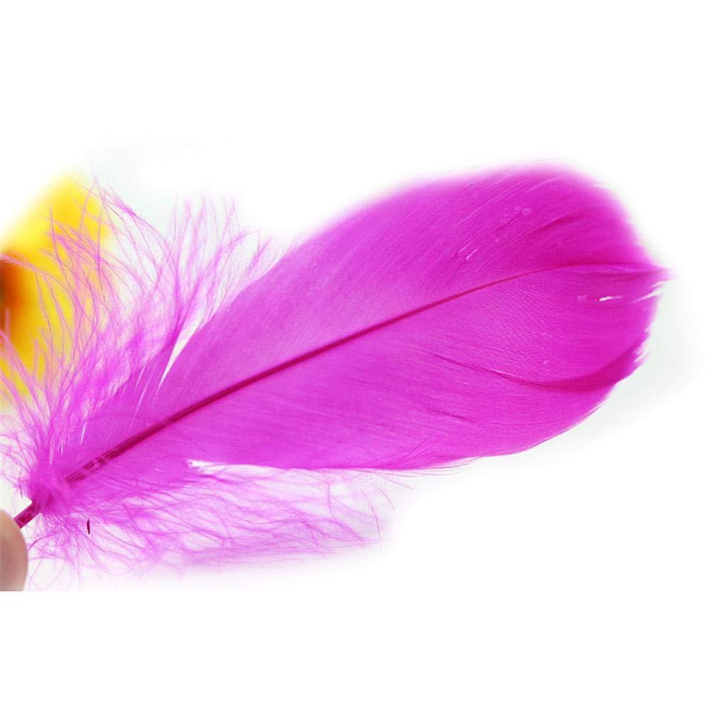 100 PCS Plumes Blanches D/écoration DIY Pour Attrape Reves Dream Catcher Accessoires de Mariage 5-9 CM