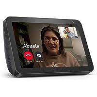 """Echo Show 8 - Pantalla inteligente HD con Alexa de 8"""" – mantente comunicado con videollamadas - Negro"""