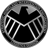 Marvels Agents of S.H.I.E.L.D. Symbol Logo Repositionable Wall Graphic Decal Sticker-TV-Movies-Gift