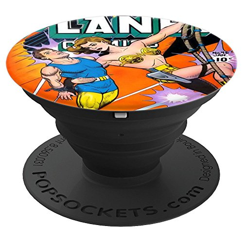 Comic Book Art Planet Comics - PopSockets Grip and Stand for Phones and Tablets