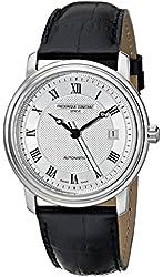 Frederique Constant Men's FC-303MC4P6 Classics Automatic Black Roman Numerals Silver Dial Watch