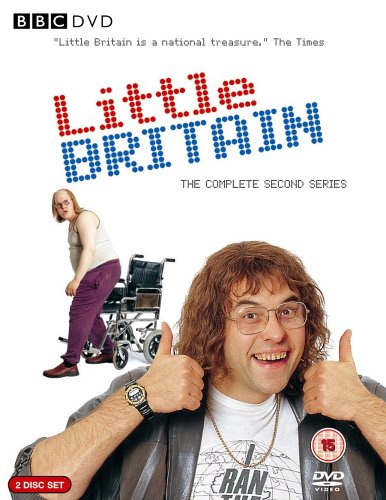 Picture of BBCDVD 1910 Little Britain - Volume 2 (Limited edition playing cards) by artist David Walliams / Matt Lucas from the BBC dvds - Records and Tapes library
