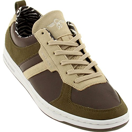 Sneaker Lo Dicoco The - Creative Recreation Dicoco Low (Khaki/Brown/Military Green)