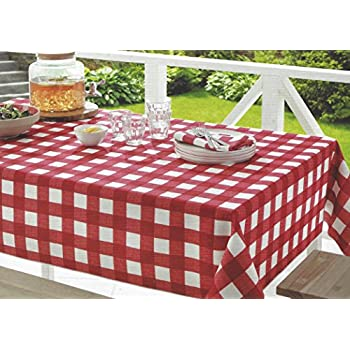 Amazon Com Arlee Home Fashions Table Trend Red Checkered