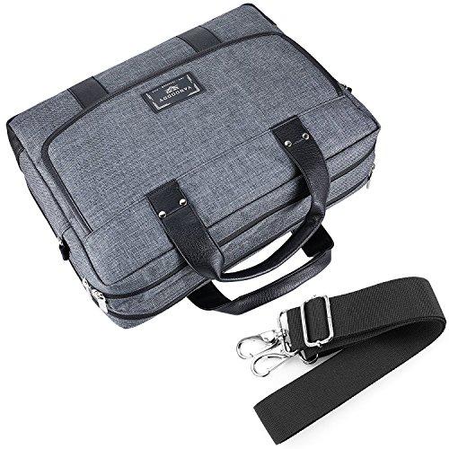 16 ~ Laptop Bag, Twill Shoulder Laptop, Tablets, Ultrabooks, Chromebooks Netbook