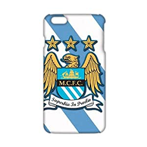 Angl 3D Case Cover Manchester City F.C. Phone Case for iPhone6 plus