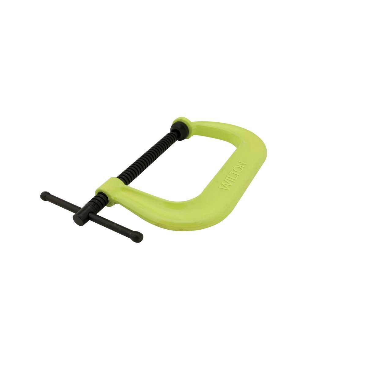 Wilton 14306 Drop Forged Hi Vis C-Clamp, 2-Inch-10-1/8-Inch Jaw Opening, 6-Inch Throat Depth